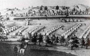 Fort Reno: reserva para los indios Cheyenne